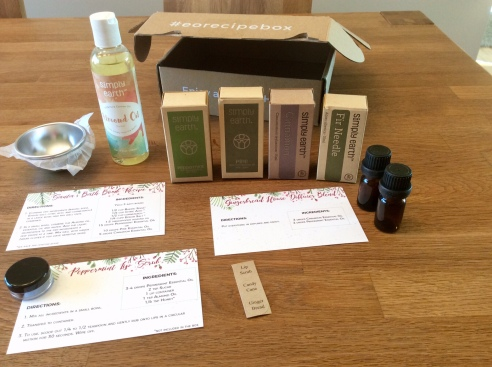 Simply Earth: Monthly Essential Oil Recipe Box & Promo Codes   Dirt